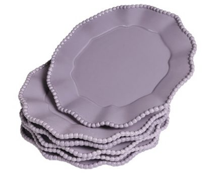 "Piatto ""Parma"" Lavanda Small set di 6 pz"